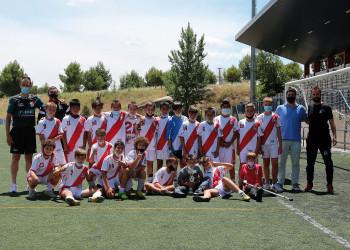 El Alevín A, campeón del Torneo Victimas del Covid