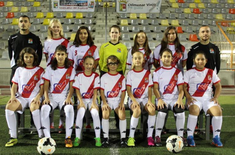 Fotos del Femenino Infantil A temporada 2016-2017