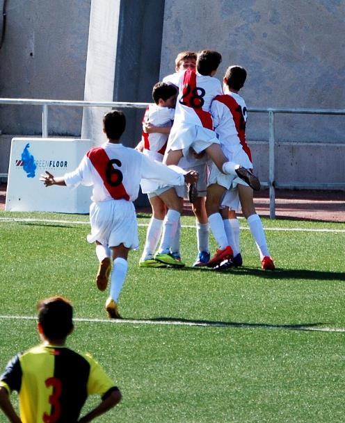 Esto es futbol. Epica victoria del Cadete B ante el Galapagar