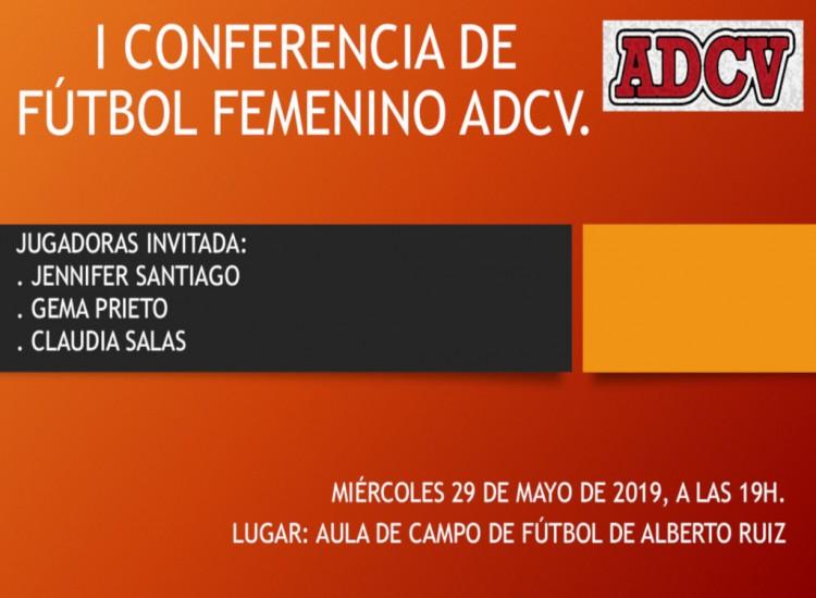 I Conferencia de Futbol Femenino ADCV