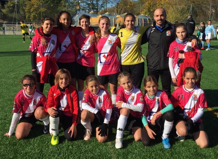 Inmenso partido del Femenino Infantil A con victoria final frente al Colegio Miramadrid