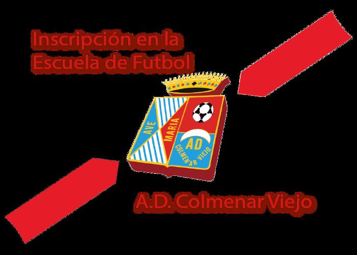Inscripción en la Escuela de Futbol A.D. Colmenar Viejo